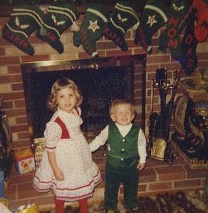 Little Me (not in the dress but the fashionable matching vest)