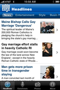 Top 5 gay apps