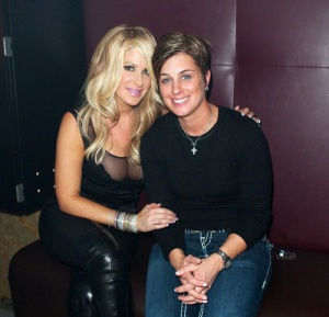 Kim Zolciak & Tracy Young via Ghetty Images